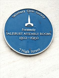 Assembly Rooms, Salisbury (Was above W.H. Smith shop; now Waterstones)