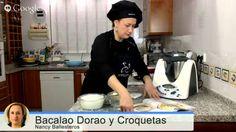 """""""Croquetas de Bacalao"""" y """"Bacalao Dorao"""" con Thermomix"""