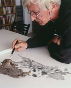 Tomi Ungerer at Work -- The world of Tomi Ungerer knows no borders. Dynamically creative, his multifaceted career makes him difficult to categorize.