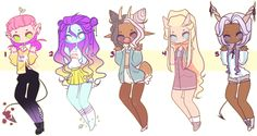 Cutesy Adopts .:CLOSED:. by jawlatte on DeviantArt