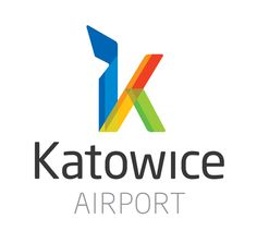 logo design for Katowice Intl Airport #KTW in Pyrzowice, Poland. Design by: www.mamastudio.pl