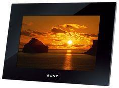 SONY Digital Photo Frame 10.2-inch Мemory 2GB Black DPF-XR100 / B from japan  #SONY