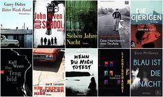 Wunschliste   Zehn fesselnde Krimis & Thriller von der Backlist