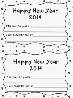Happy New Year 2014! FREEBIE!