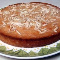 Coconut Basbousa- Syrup Cake Recipe
