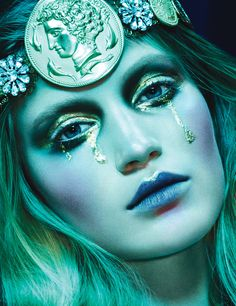 Greek Goddess Photograph by Ben Hassett; styled by Panos Yiapanis; W magazine May 2014.