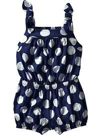 $13 Bow-Tie Jersey Rompers for Baby