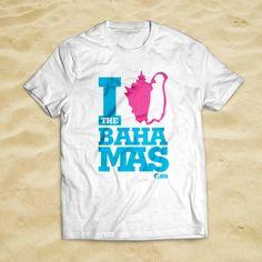 The I (love) bahamas shirt