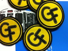 GALERIE F...Chicago's Artist Owned & Artist Operated Art Gallery...Specializing in Screen Prints, Gig Posters & Street Art.  Just received a grip of our Galerie F KickStarter swag...GF Patches!  http://kck.st/H97xSK