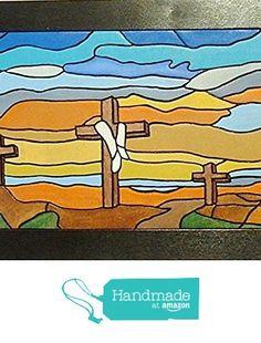 Resurrection Crosses, Religious Wood Sculpture Wall Decor, Wooden Wall Art, Wall decor from Gallery At Kingston http://www.amazon.com/dp/B018D9G5W6/ref=hnd_sw_r_pi_dp_3cRAwb11RWE67 #handmadeatamazon
