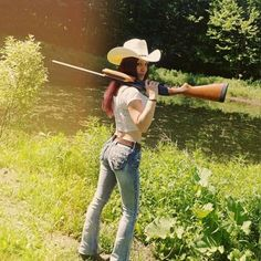 Funny Picture titled : Sunday Gunday 19 from evilmilk funny pictures. Country Songs, Country Girls, Self Defense Women, Dreads Girl, N Girls, Pretty Girls, Cowboy Hats, How To Look Better, Daughter