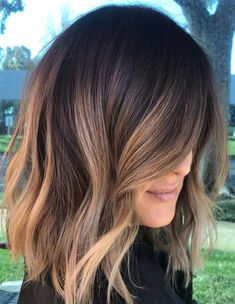 Light Brown Color Ideas for Spring 2018 Balayage Brunette Hair