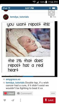 Stop using other peoples pains to get reposts