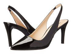Nine West Casablanc Black Synthetic, Shoes, Black