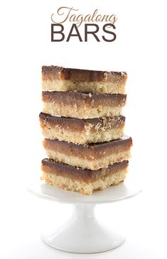 These keto Tagalong cookie bars are far easier to make than individual cookies and they taste just like the original Girl Scout Cookie. Dare I say they taste even better? You won't believe they are low carb and sugar-free.  Once upon a time, about 6 years ago, I created a low carb Peanut Butter Caramel Shortbread Bar that was really amazing. Really amazing, and my husband told me that they tasted just like one of his favourite Girl Scout Cookies, Tagalongs. But as a prolific recipe creato...