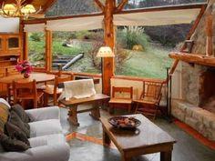 Apart Hotel Casa en Ladera Cerro Otto en San Carlos de Bariloche, Patagonia argentina Living Comedor, Loft, Patagonia, Gazebo, Outdoor Structures, Outdoor Decor, Modern, African, Board
