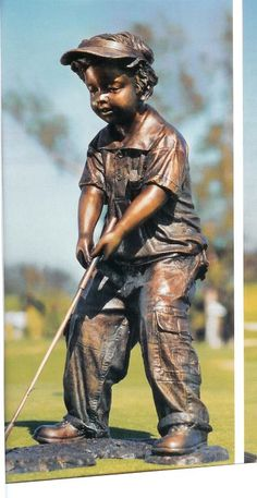 Future Golf Champ statue from Randolph Rose
