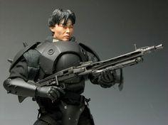 Dragon Models - 1/6 Straydog Kerberos Panzer Cops Jin Roh, Cops, Dragon, Models, Templates, Dragons, Fashion Models