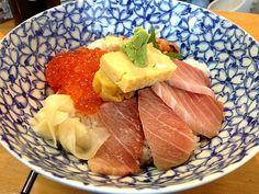 新鮮で美味しかった - 11件のもぐもぐ - 築地大トロ海鮮丼 by kyazukyazu