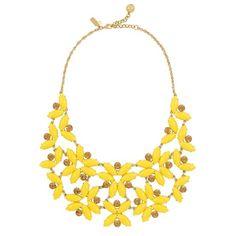 Kate Spade Garden Bib Necklace