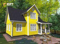 Проект дома DL18 112 кв.м (7x9 м) - цена