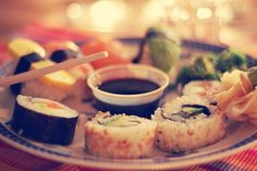 Just something about sushi<3
