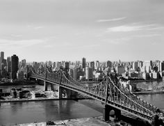 Queensboro Bridge in 1968.