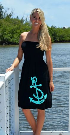Anchor Dress, Anchor clothing on Wanelo