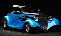 street rods | Custom 1933 Ford 3-Window Coupe Street Rod - Aucton Results: $50,000