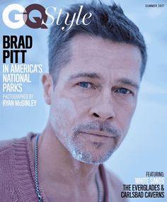 Brad Pitt en portada de GQ Style Magazine Spring 2017