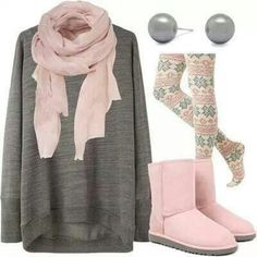 #xmas #gifts #ugg Winter outfit (with jeans!)