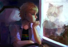 Adrien and who he'd rather be (Miraculous Ladybug, Chat Noir)