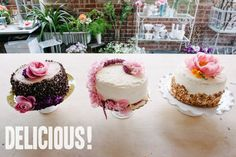 How To: A Trio of Grocery Store Wedding Cakes - One cake feeds 20 people!  A Practical Wedding: Blog Ideas for the Modern Wedding, Plus Marriage