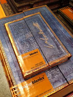 Paperblanks. Again.  #notebooks #paperblanks #thepaperblog