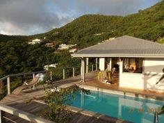 Zen Villa Jolie Villa vue mer à louer à Saint Martin (Réf:5256 Villa SaintMartin AlmondGrove)