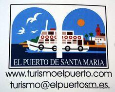 #Cádiz #El Puerto de Santa María - Logotipo de turismo del Ayuntamiento GPS  36.596667, -6.223611  Coordenadas reseñadas del centro de la ciudad. RESEÑA HISTÓRICA: Los primeros vestigios de asentamiento en El Puerto de Santa María son del Paleolítico Inferior.