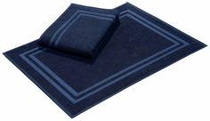 Details:  Hoch-Tief-Effekt, Fussbodenheizungsgeeignet, Sehr strapazierfähig,  Qualität:  0,7 kg/m² Gesamtgewicht (ca.), 4 mm Gesamthöhe (ca.), Waschbar bei 60°C, Trocknergeeignet, gewebt,  Flormaterial:  100 % Baumwolle,  Wissenswertes:  Das 2-tlg. Set besteht aus zwei Duschvorlegern á 50 x 75 cm.,  Qualitätshinweis:  Geprüfte Qualität - dieser Artikel untersteht laufenden Kontrollen unserer Qu...