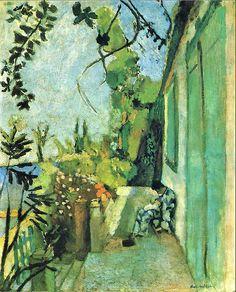 Henri Matisse. The Terrace.