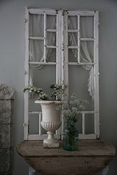 Like the addition of the curtain to the window frame.