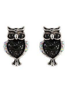 LOVEsick Owl Earrings Pair,