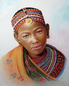 Nina de Africa by Dora Alis Mera V.