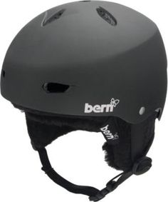 Bern Women's Brighton Audio Helmet - Matte Black w/ Black Audio Knit S - 54 - 55.5 by Bern. $49.77. For all the girls who take the first tram up and the last ride home: this ones for you. For the true shredder in you, the Brighton will perform all day every day, season after season, in the deepest of pow or jamming at the park. Save 60% Off!
