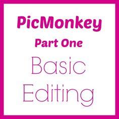 How To Use PicMonkey – Basic Editing Tools from NewtonCustomInteriors.com #PicMonkey #photoediting