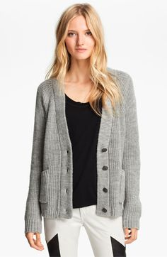rag & bone 'Lund' Chunky Knit Cardigan available at #Nordstrom