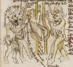 Thomasin <Circlaere>   Welscher Gast (b) Nordbayern (Eichstätt?), um 1420 Cod. Pal. germ. 330 Folio 46r