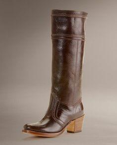 Women's Jane 14L Stitch Boot - Dark Brown