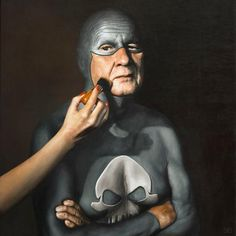 [#Peinture] The life of a Superhero by Andreas Englund