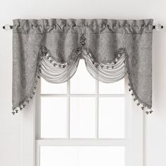Georgina Luxurious Fringed Window Valance by GoodGram - Assorted Colors. Georgina Fringed Window Valance by GoodGram - Assorted Colors. What's Included: Valance. GoodGram was founded over 45 years ago in Greenwich, Connecticut. Tier Curtains, Rod Pocket Curtains, Cafe Curtains, Kitchen Curtains, Valance Curtains, Curtain Panels, Fringe Curtains, Porch Curtains, Drapery
