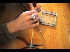 Comment faire des boucles d'oreilles faciles en alu : Cathoo Crea