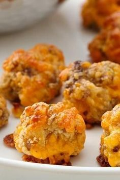 Bisquick's Sausage Cheese Balls are a holiday family favorite!  Even my picky kids love them!.